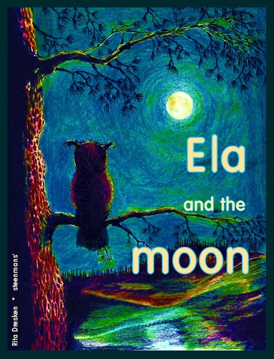 Ela and the moon